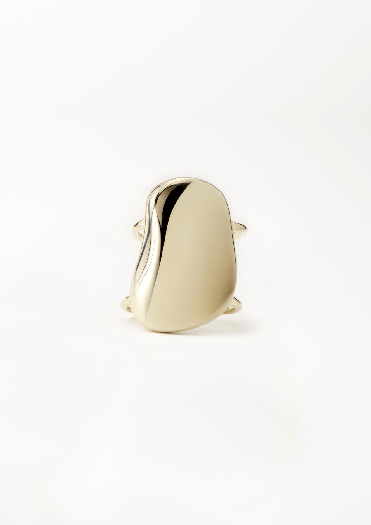 xenia bous schmuck Golden Stone 33 Round Stone Cuff Armband gold silber