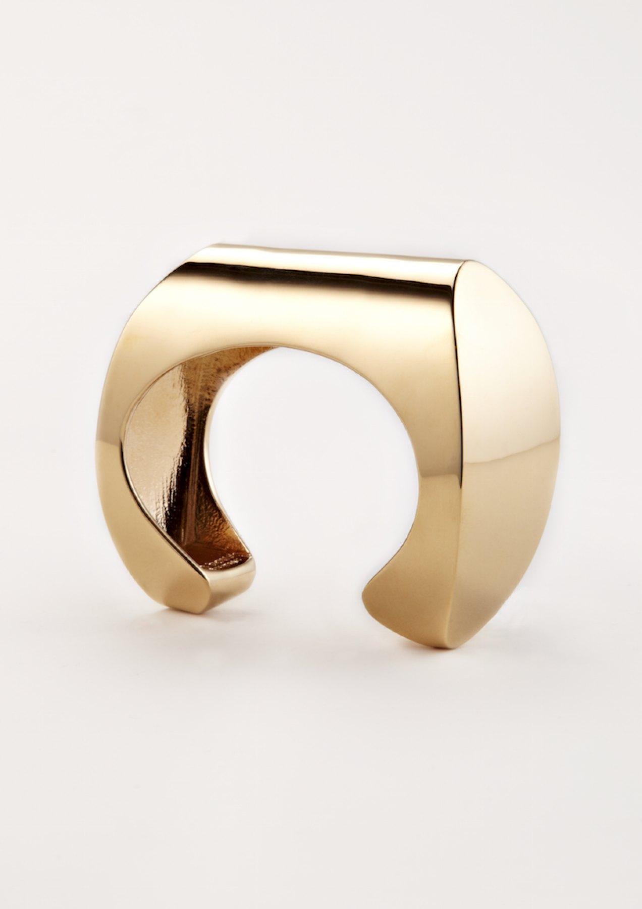 xenia bous schmuck Golden Stone 34 Cuff Armband gold silber