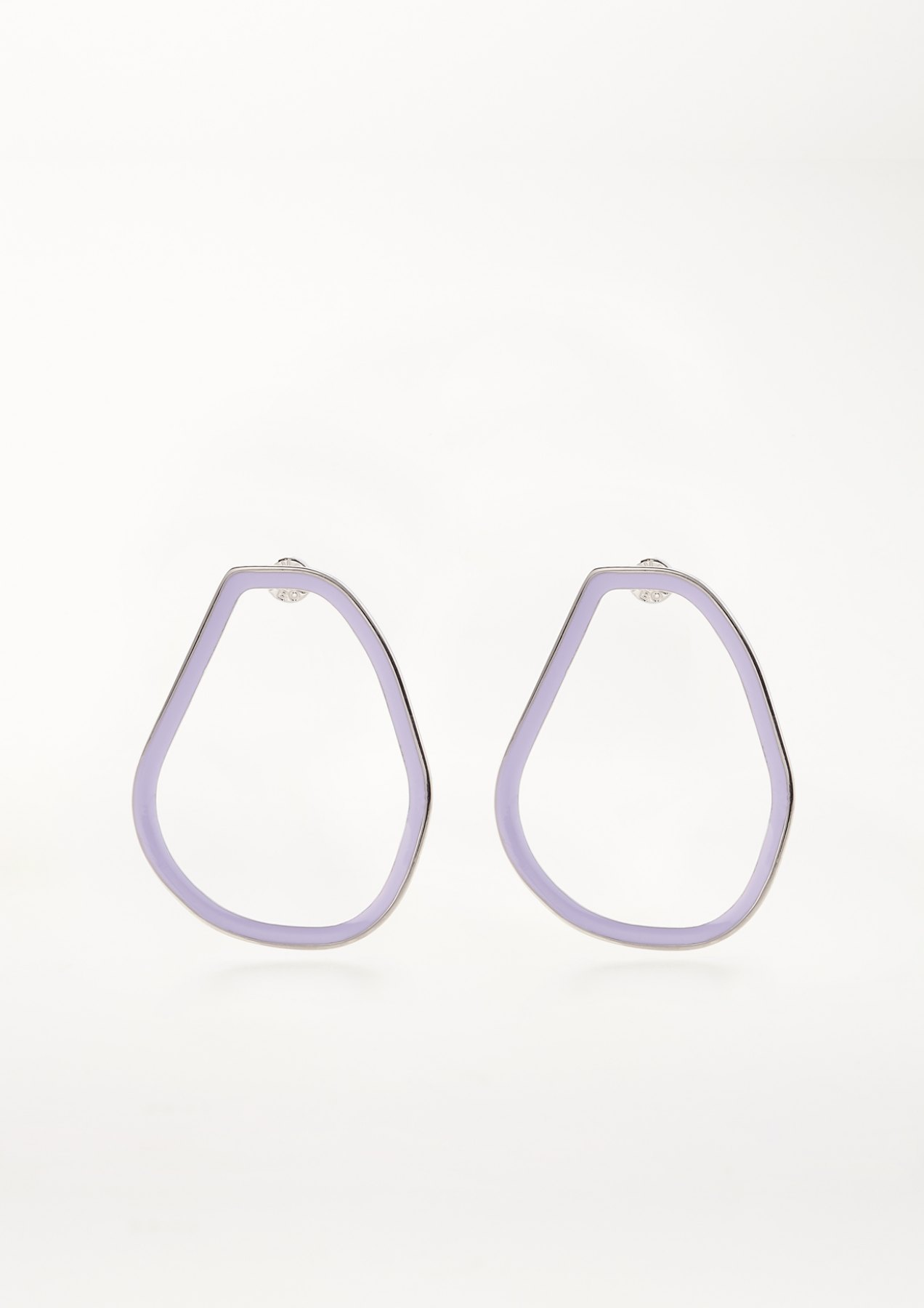 xenia bous jewellery coloured stone 04 earrings flieder